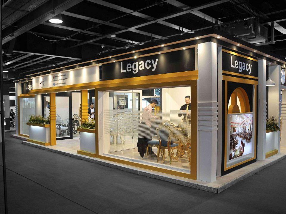 غرفه سازی شرکت Legacy