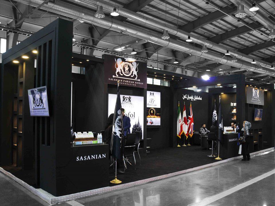 غرفه سازی شرکت ساسانیان