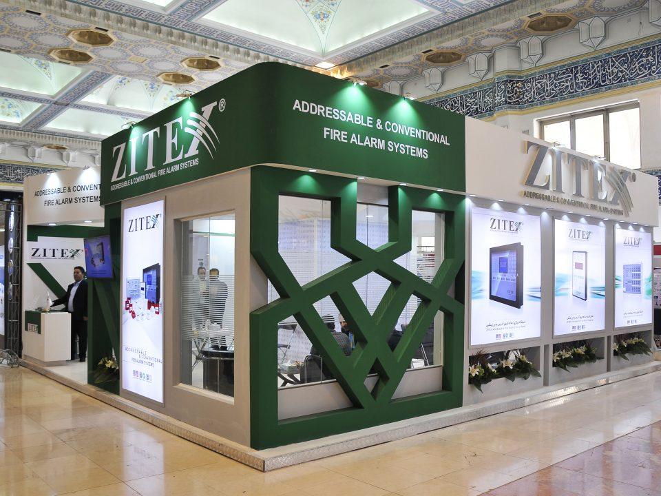 غرفه سازی شرکت زیتکس